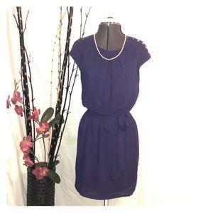 GUESS Deep Royal Purple Dress!